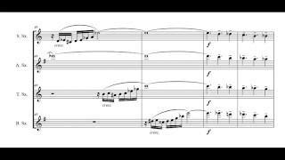 "Video ""Bachiazzola"" - for saxophone quartet  (score on video) download MP3, 3GP, MP4, WEBM, AVI, FLV Juni 2018"
