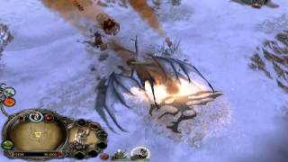 BFME2: Sauron Vs. Summon Dragon Aka The Battle For Middle-Hour