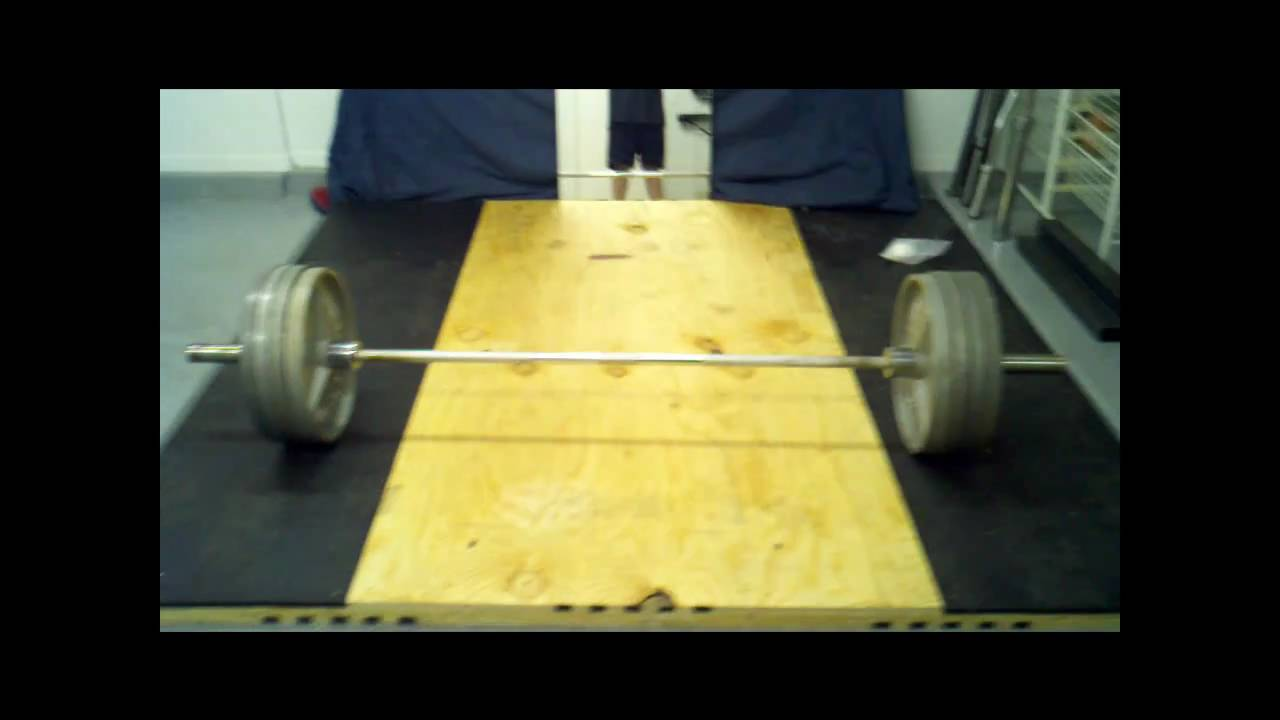 How to build a weightlifting platform youtube