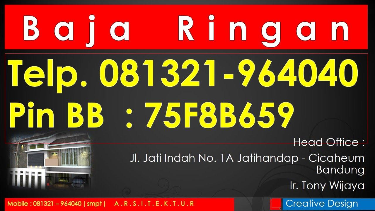 Jual Baja Ringan Taso Di Semarang Ph 081321 964040 Youtube