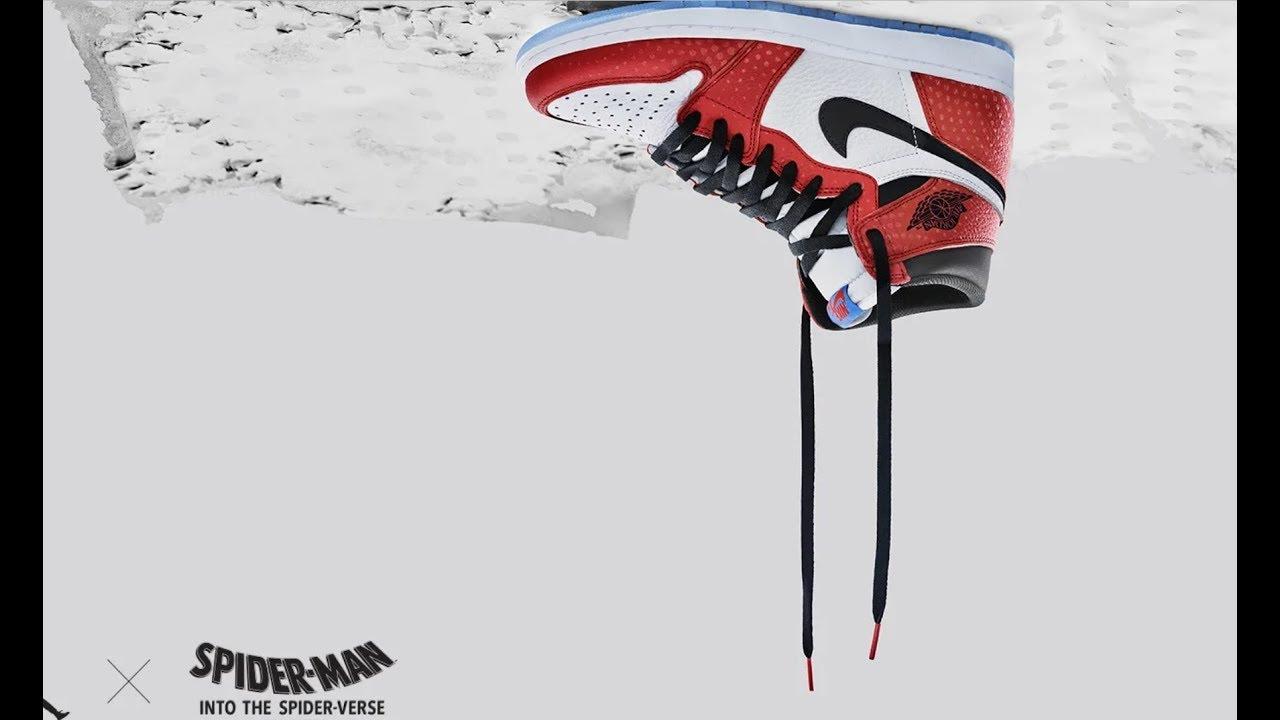 jordan 1 spiderman footlocker