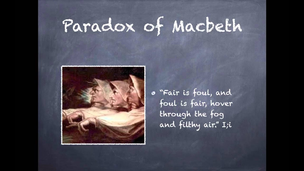 Macbeth Literary Devices Youtube