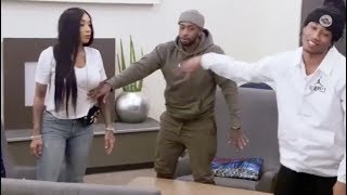 Sky BLASTS Jadah~ then GOES OFF while meeting her son Genesis!!😱😳#Blackinkcrew