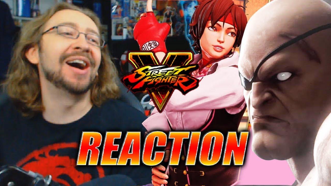 Max Reacts Sakura Blanka Sagat Cody More Revealed Street Marvel Vs Capcom Infinite Reg 3 Fighter V Season