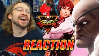 MAX REACTS: Sakura, Blanka, Sagat, Cody & More Revealed (Street Fighter V Season 3)