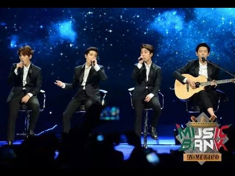 301014 exo k sabor a m237 music bank in mexico youtube
