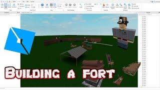 Construction d'un fort - [Studio Roblox] Bâtiment