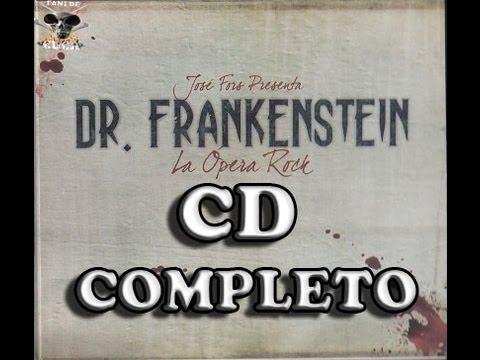 Dr. Frankenstein - La opera rock - CD COMPLETO