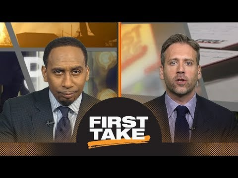 Stephen A. and Max react to Rockets defeating Warriors in Game 5 | First Take | ESPN
