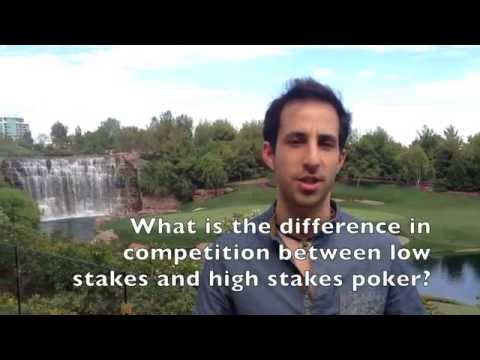 The Difference Between Low Stakes & High Stakes Poker