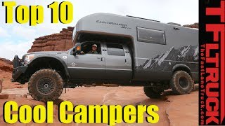 Top 10 Cool Camping Cars and Trucks For Those Who Hate RVs