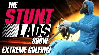 GTA 5 Rockstar Editor - The Stunt Lads Show: EXTREME Golfing!