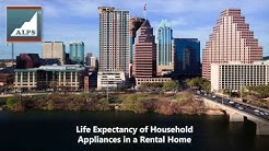 Life Expectancy of Household Appliances in an Austin, TX Rental Home