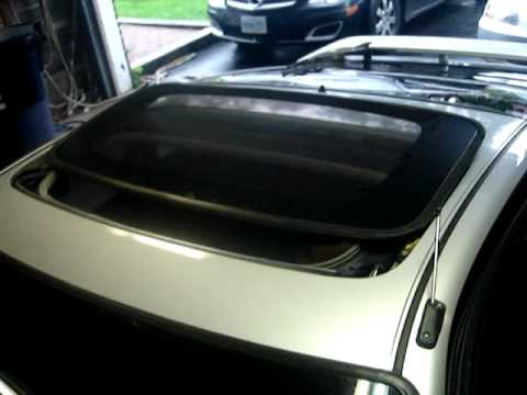 Honda Crx Power Glass Sunroof Youtube
