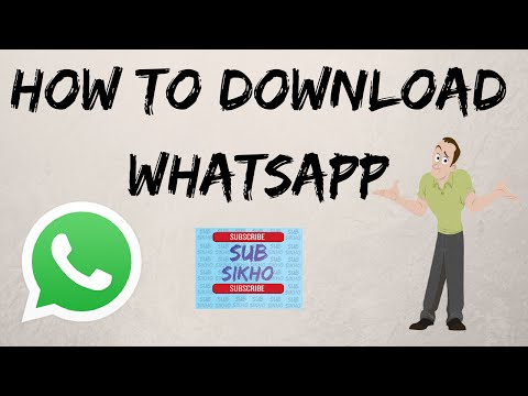 How to download whatsapp.