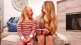 Savannah Is Pregnant!!! Finding Out With 6 Year Old Daughter!