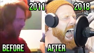 I used to SUCK at singing. (Then Vs. Now)