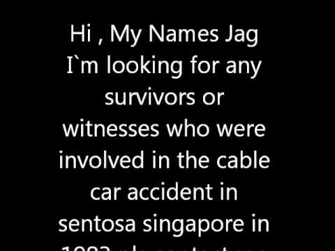 sentosa cable car accident 1983