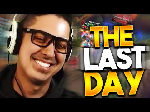 THE LAST DAY OF SEASON 9!!!!!!! - Trick2G