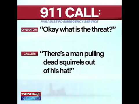 Funny 911 call number 3