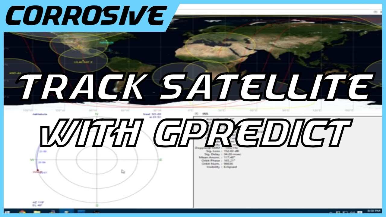 How to track satellites using gPredict