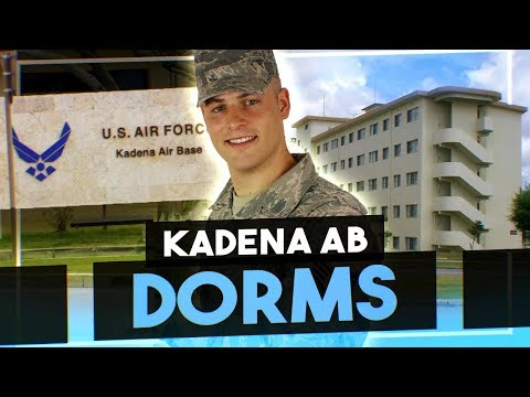 Air Force dorm tour (Kadena AB)