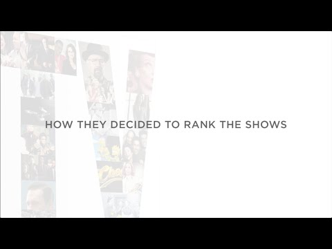TV (THE BOOK): How They Decided To Rank the Shows