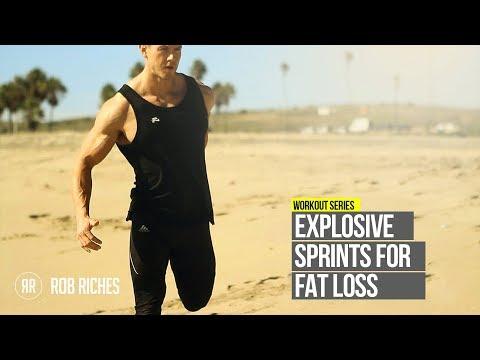 Explosive Cardio for FAT LOSS | Beach Sprints