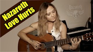 Nazareth - Love Hurts | На гитаре + разбор | fingerstyle