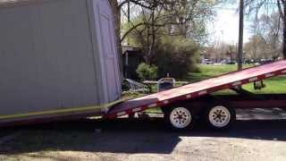 How To Move A Shed Professionally