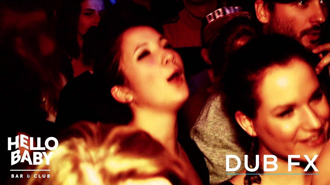Dub Fx - CAde - Andy V // Budapest - Hello Baby Bar. New live show.