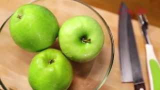 Как вынуть сердцевину яблока