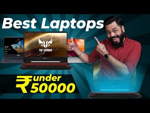TOP 5 BEST LAPTOPS UNDER 50000 ⚡⚡⚡ Best Budget Laptops For Creators, Gamers And Students