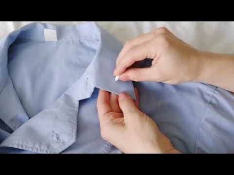 DIY Embroidered Shirt: Как добавить вышивку на воротничке рубашки