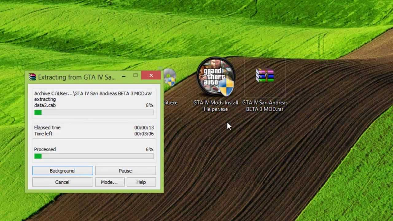 [FREE Download] How to install GTA IV Mods (Vice city Rage, San Andreas,  Ironman)