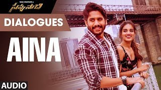 Aina Dialogue Savyasachi Movie Dialogues Naga Chaitanya Nidhi Agarwal MM Keeravaani