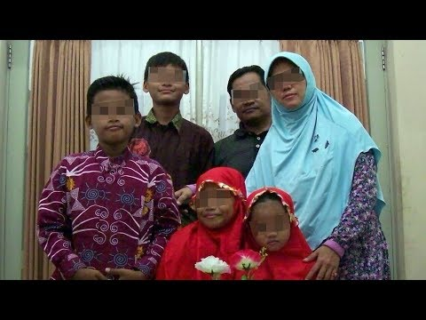 Ini Wajah Keluarga Terduga Pelaku Bom 3 Gereja di Surabaya, Foto dari Pihak Kepolisian