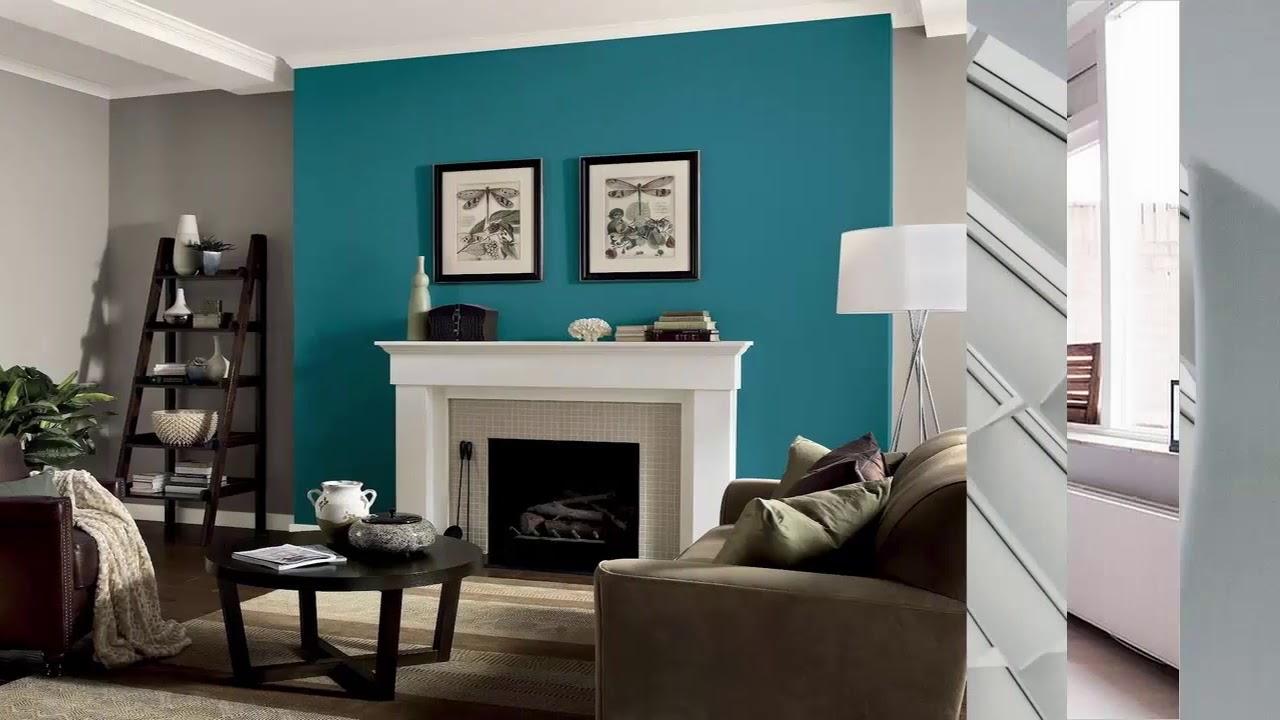 wohnzimmer akzent wandfarben ideen youtube. Black Bedroom Furniture Sets. Home Design Ideas