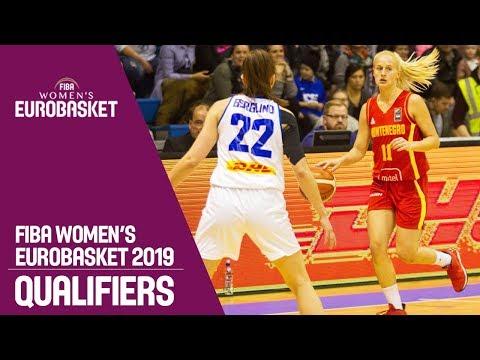 Iceland v Montenegro - Full Game - FIBA Women's EuroBasket 2019 Qualifiers
