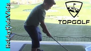 TopGolf Fun Night Out With HobbyTiger + HobbySpider By HobbyKidsVids!