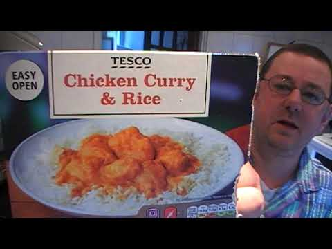 Marks Remarks Tesco Chicken Curry Rice Review
