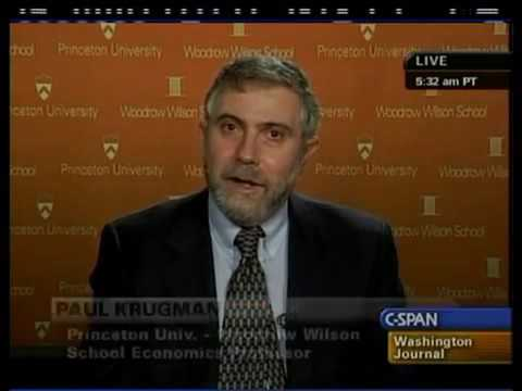 Paul Krugman: U.S. Economy and the Return of Depression Economics (2009)