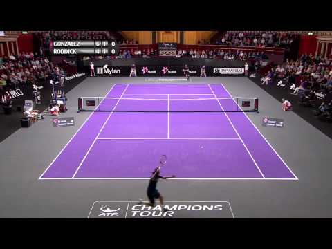 Fernando Gonzalez vs Andy Roddick  Final  АТР Statoil Masters London 2014