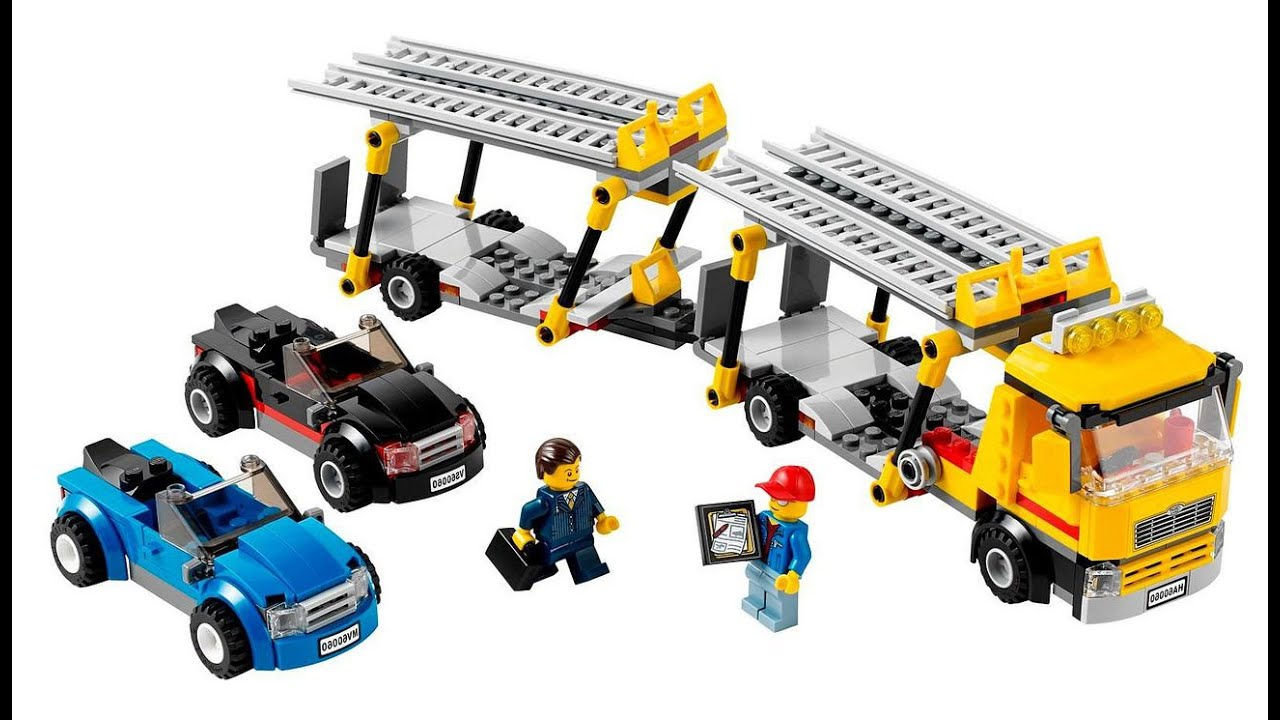 60060 lego auto transporter oyuncak yap m part1 youtube. Black Bedroom Furniture Sets. Home Design Ideas