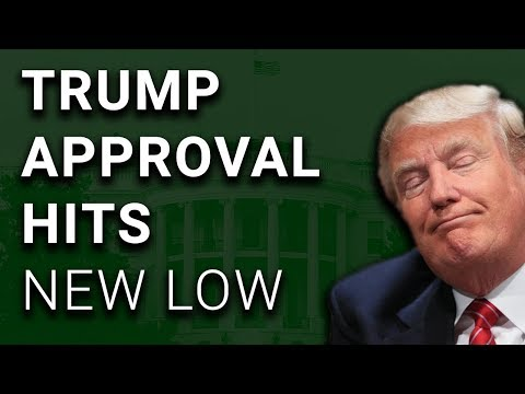 Uh-Oh: New Record Low Trump Approval Hits 32%