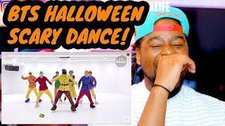 BTS | BLACK GUY 1ST DANCE PRACTICE |  방탄소년단 Halloween ver GOGO | REACTION!!!