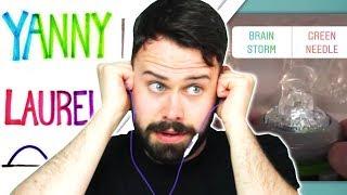 Irish People Try Hear Yanny or Laurel? Brainstorm or Green Needle?