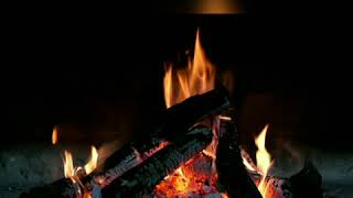Relaxing fireplace sound