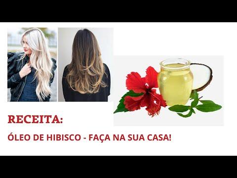 PARA ACELERAR O CRESCIMENTO DOS CABELOS OLEO DE HIBISCO