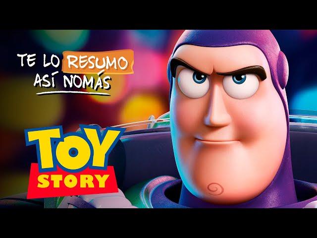 La Saga de Toy Story | #TeLoResumoAsíNomás 209 [RESUBIDO]